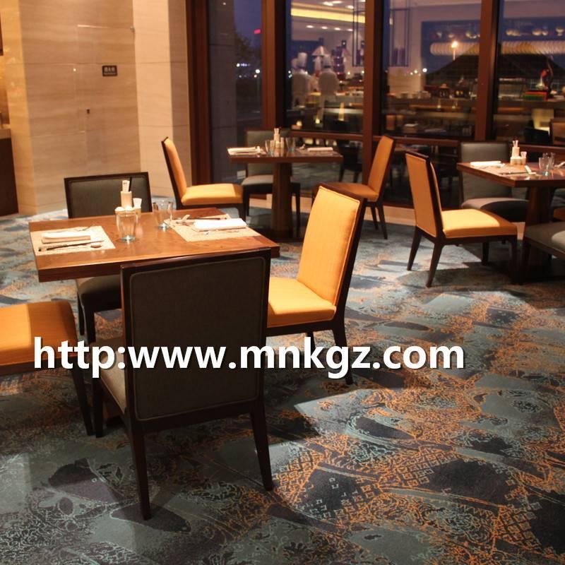 阿克明地毯星级酒店用餐区满铺地毯