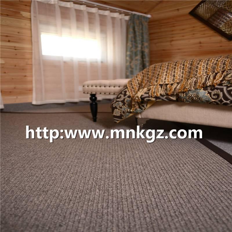 素色簇绒毯休闲家用地毯