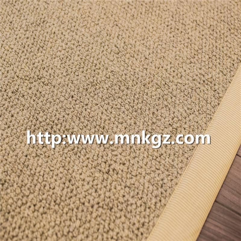 淡雅家庭装饰风格机织簇绒羊毛地毯