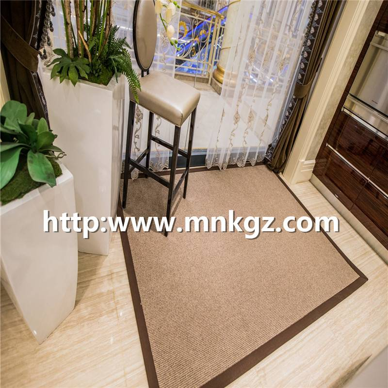 机织簇绒毯素色羊毛地毯家庭装饰地毯