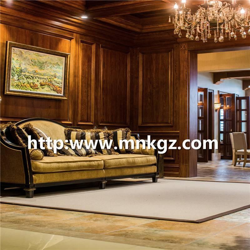 古典风格客厅地毯100%羊毛簇绒地毯
