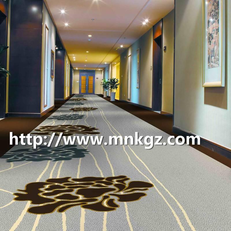 过B1级消防酒店走廊地毯阿克明满铺毯