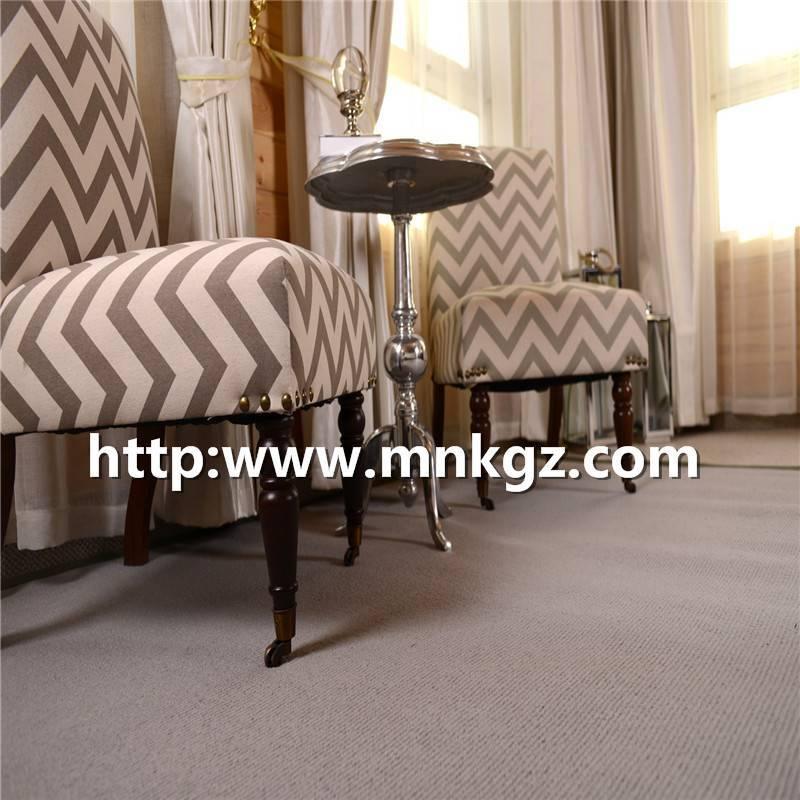 80%羊毛+20%尼龙簇绒地毯洽谈区活动地毯