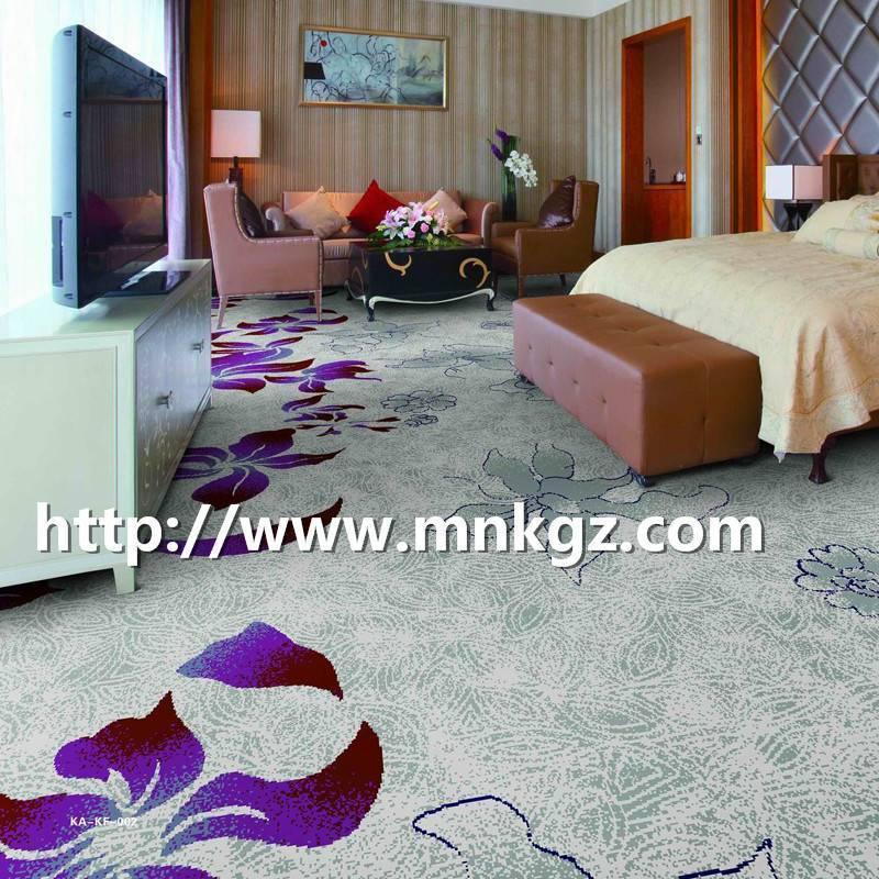 80%羊毛+20%尼龙卧室地毯阿克明地毯