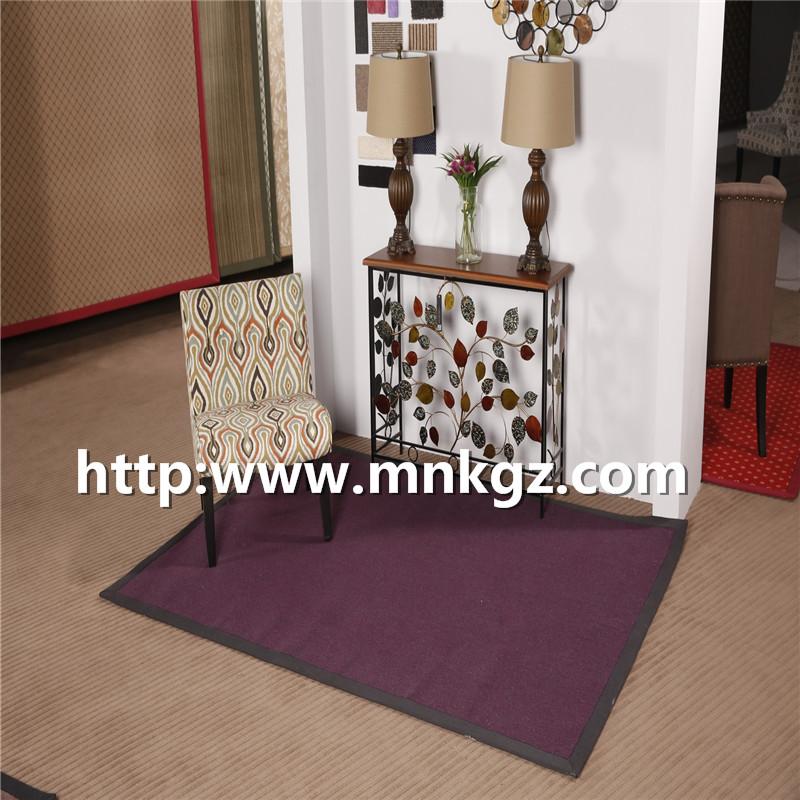机织家用地毯素色客厅块毯