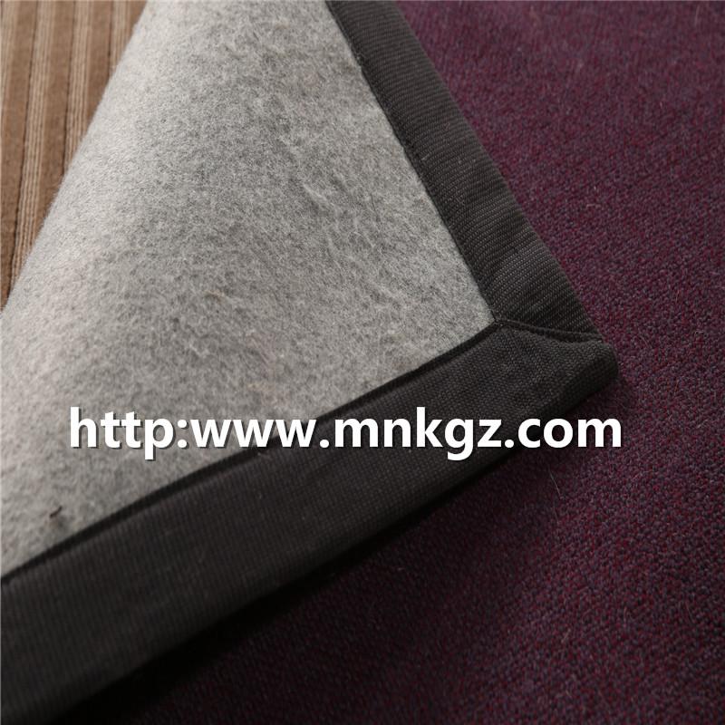 素色机织地毯家居活动块毯