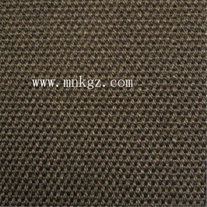 天然高档剑麻块毯,适用于办公区域、客厅、厨房