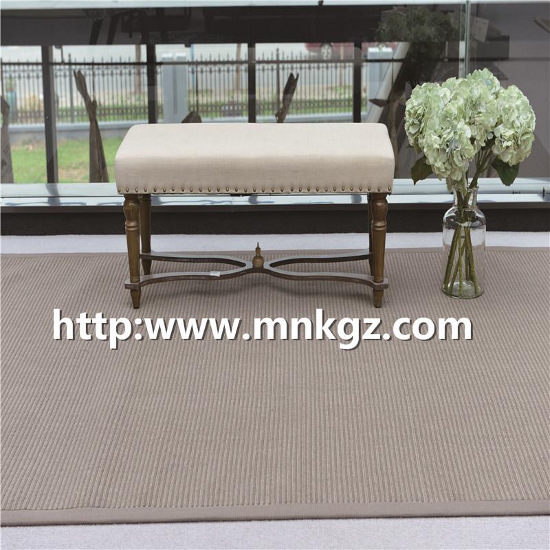 单点威尔顿地毯素色家用地毯