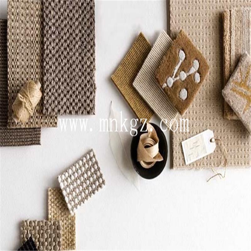 客厅高档天然剑麻地毯,防滑防尘防静电,可定制