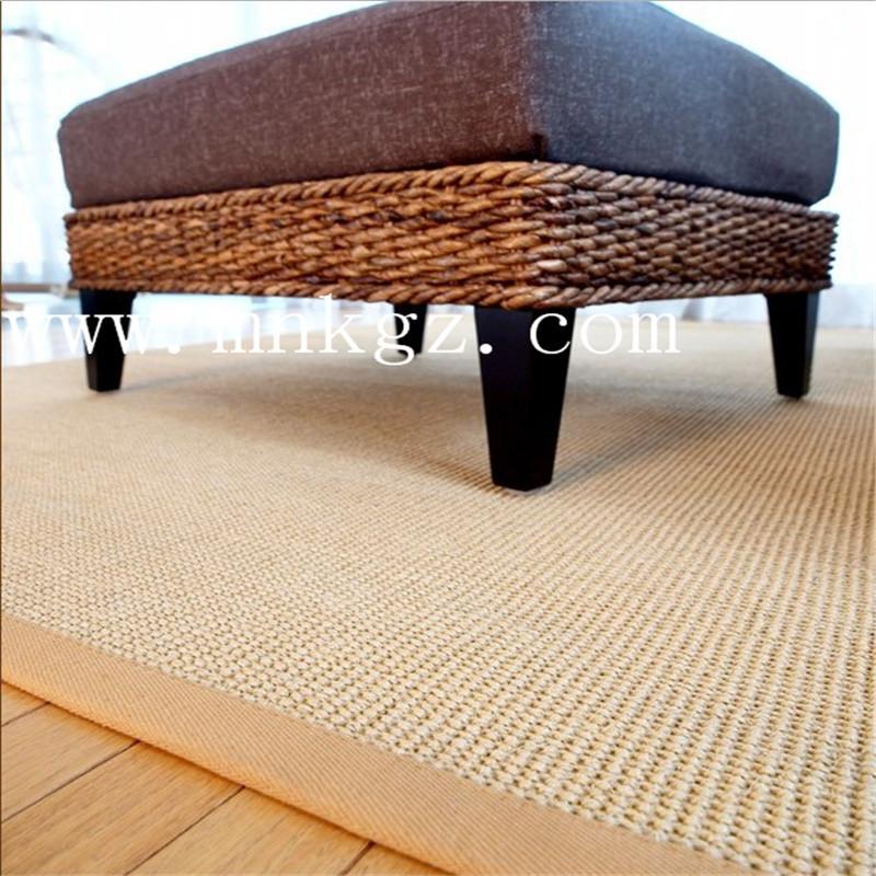 天然高档剑麻地毯,独特的手感设计,客厅、卧室均可适用