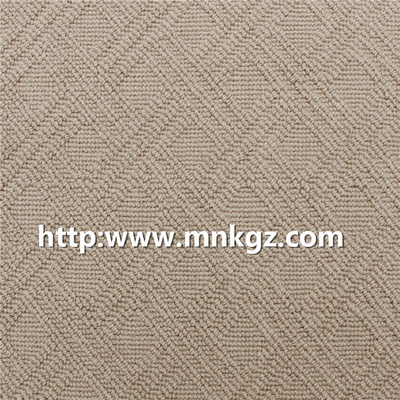 素色簇绒地毯100%羊毛地毯
