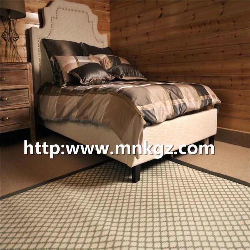 单面威尔顿地毯100%羊毛高密度地毯