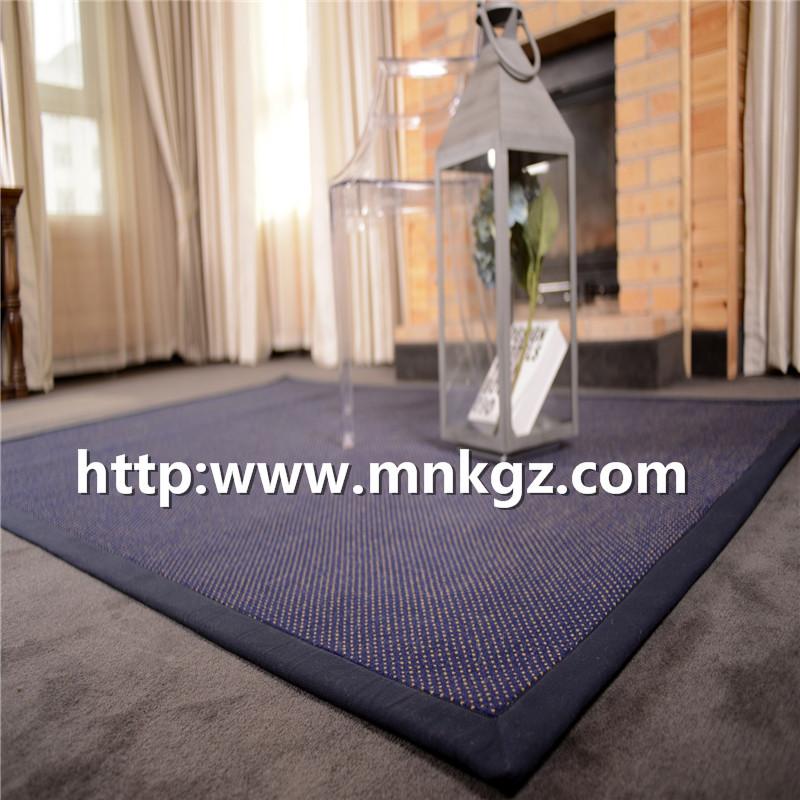 家用块毯素色威尔顿地毯