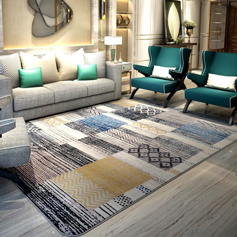 方块地毯的特别之处