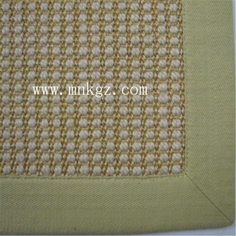 天然高档剑麻地毯 适用于客厅、阳台、办公区域等,可定制