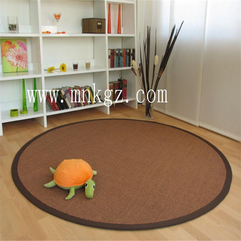 高档天然剑麻地毯,视觉感强,风格独特,防尘防污防静电,可定制